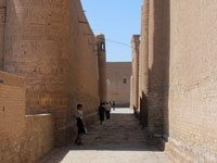 Small streets of Khiva