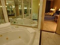 Bathroom in the Executive Suite