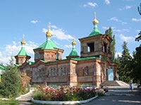 Karakol. Orthodox Church
