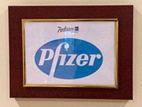 Конференция медицинской компании Pfizer