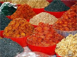 Uzbek dried fruits
