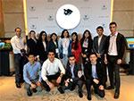 Волонтеры - студенты Университета мировой экономики и дипломатии