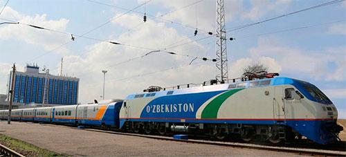 Запущен высокоскоростной поезд Ташкент-Алматы-Ташкент