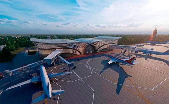 В Самарканде построят аэропорт в форме старинного фолианта Мирзо Улугбека